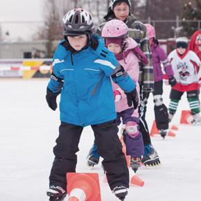 Eislaufschule: Auch dieses Jahr reges Interesse