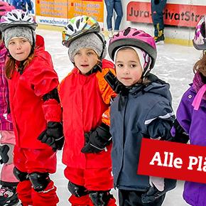 Eislaufschule: Alle Kurse ausgebucht!