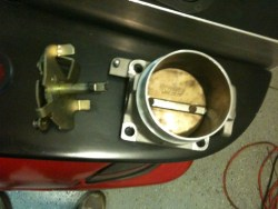 A BBK Throttle body that broke - BBK wont sell parts or service it for me!