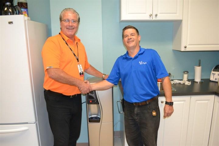 Citykidz-Eagle water treatment installation Hamilton Ontario Canada