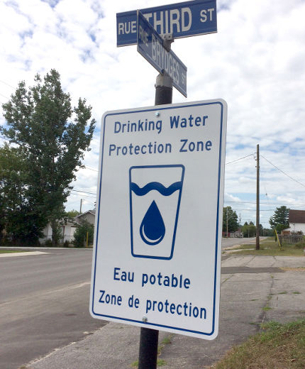 Eagle Water Treatment supports and encourages the use of water protection signs