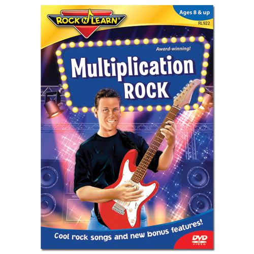Rock 'N Learn® DVD: Multiplication Rock - Math ...