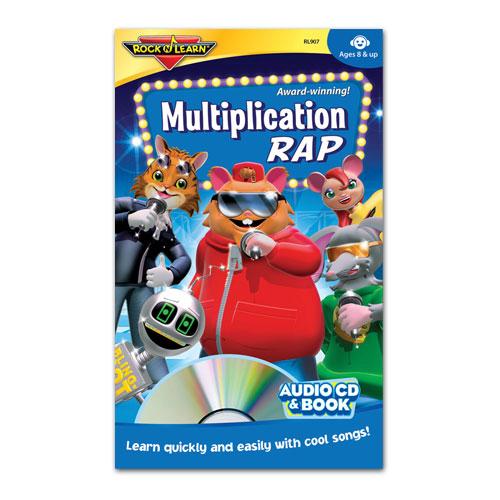 Rock 'N Learn® CDs: Multiplication Rap - Sale & Discount ...
