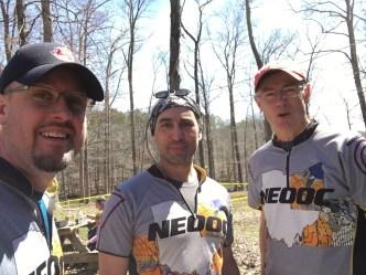 Anderas, Todd, and Bob at Flying Pig XXI