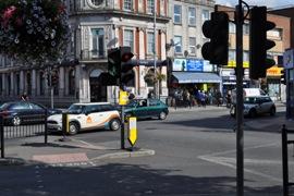 Junction on Uxbridge road