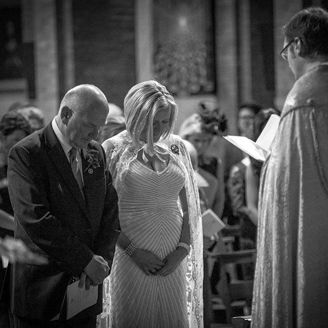 Instagram Post - Bowing for Prayer | #love #stbarnabaschurch #ealingwedding #londonwedding #weddingvideography #weddingphotography #cranberryweddingstudio