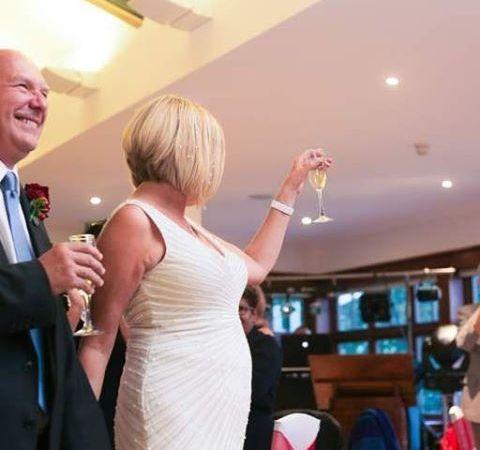 Instagram Post – Welcoming The New Couple To The Wedding Breakfast#love #wedding #weddinglondonphotographer #weddingvideo #londonwedding