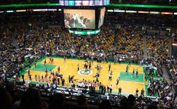 Boston-Massachusetts-TD-Garden-Celtics-Basket-USA-America