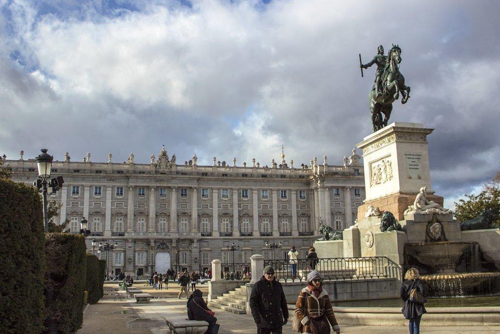 Palazzo Reale-Palacio Real-giardini-Madrid-Spagna-Spain