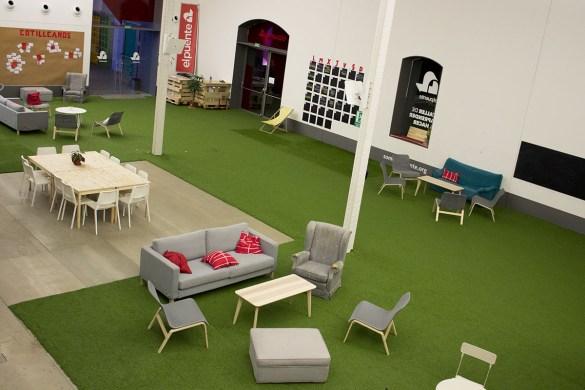 il Matadero-centro culturale-Madrid-Spagna-Spain-sala lettura-Europa