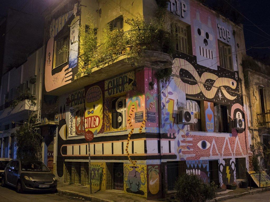 Murales-graffiti-street art-Athens-Atene-Grecia-Greece-Europa