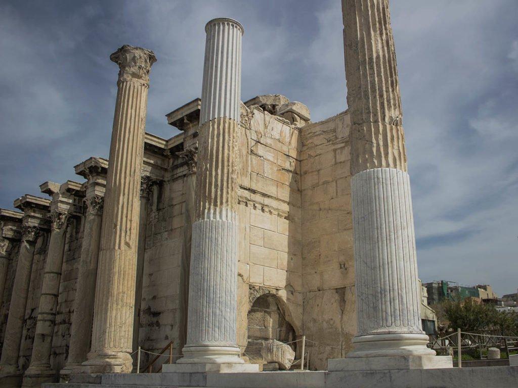 Biblioteca di Adriano-Athens-Atene-Grecia-Greece-Europa