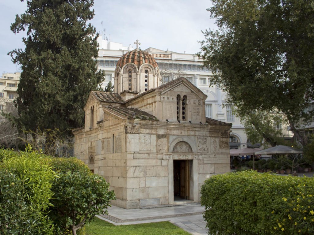 chiesa ortodossa-Athens-Atene-Grecia-Greece-Europa