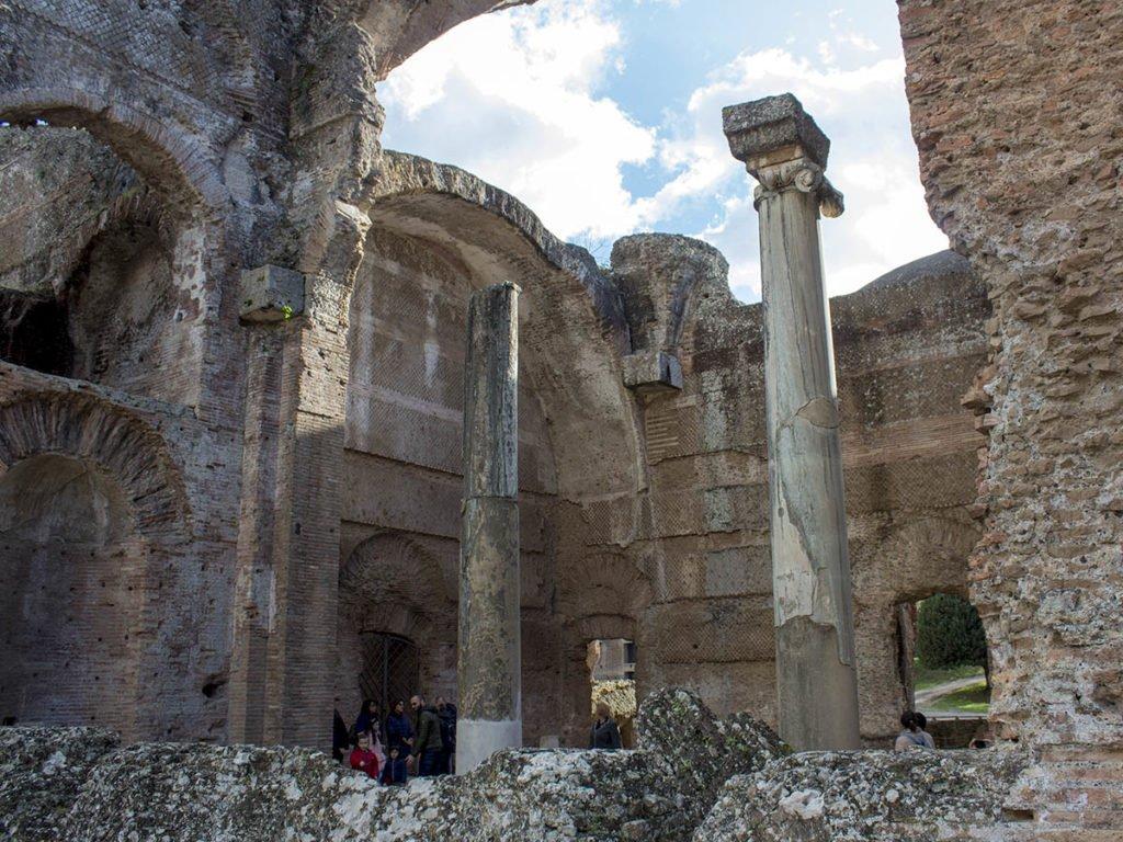 Scavi romani-Villa Adriana-Tivoli-Lazio-Italia-Europa