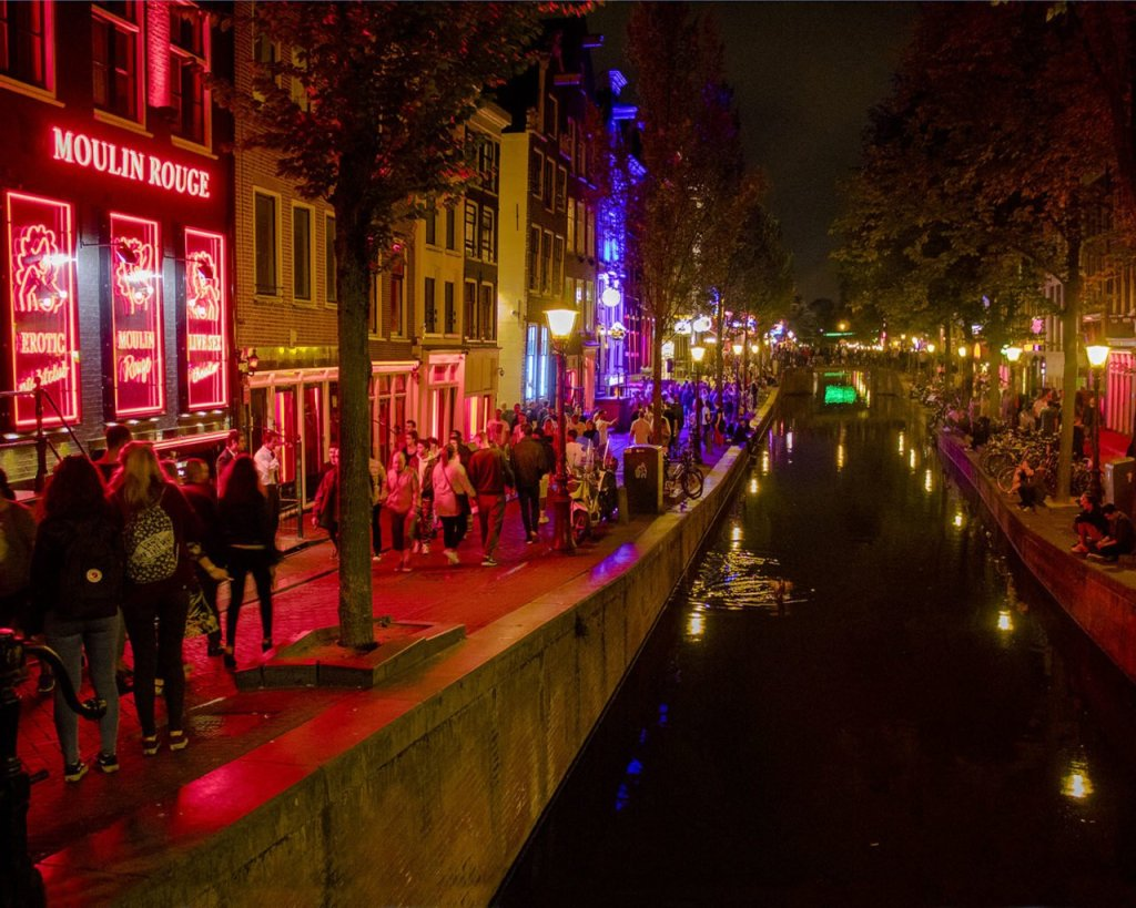 Red light district-Amsterdam-Olanda-Holland-Netherlands-Paesi Bassi-Europa-Europe-quartieri a luci rosse Amsterdam