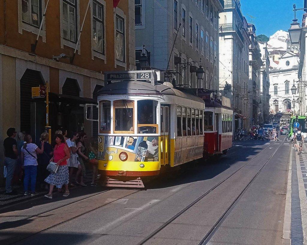 Tram 28-tram lisbona-Visitare Lisbona- Lisbona consigli pratici - Portogallo- Portugal - Europa-Lisbona