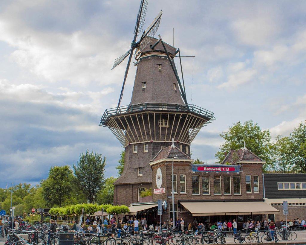 mulino a vento amsterdam-Brouwerij-Amsterdam-Olanda-Holland-Europa