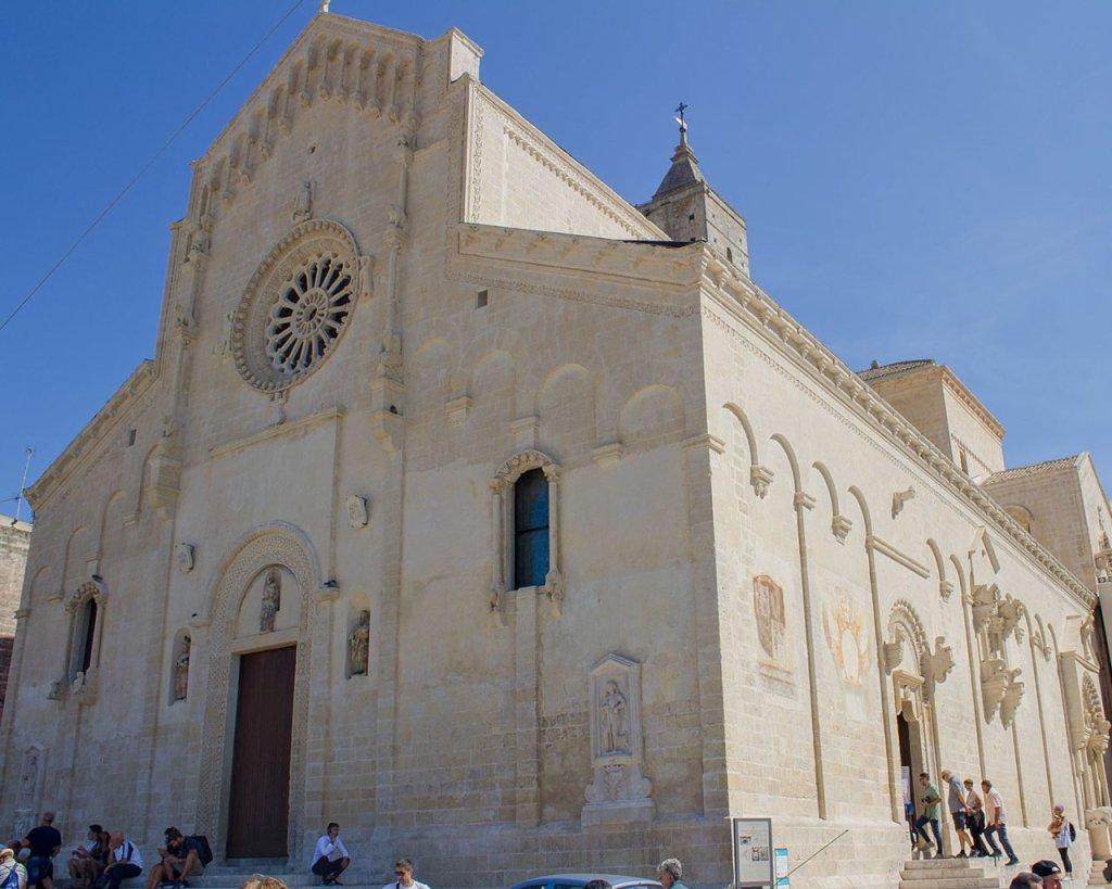 cattedrale di Matera-piano-sasso barisano-Matera-campania-sassi Matera-Italia