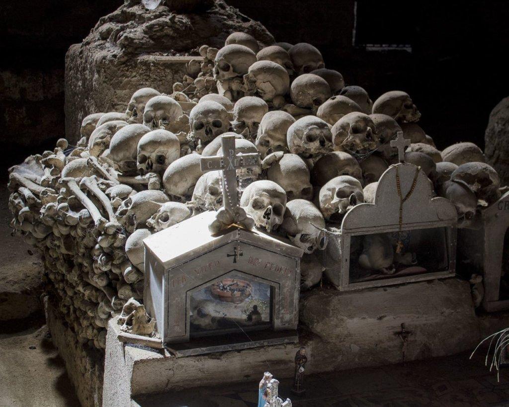 cimitero delle fontanelle-cimitero rione sanità-rione sanità-Catacombe di Napoli-Napoli-Campania-Italia