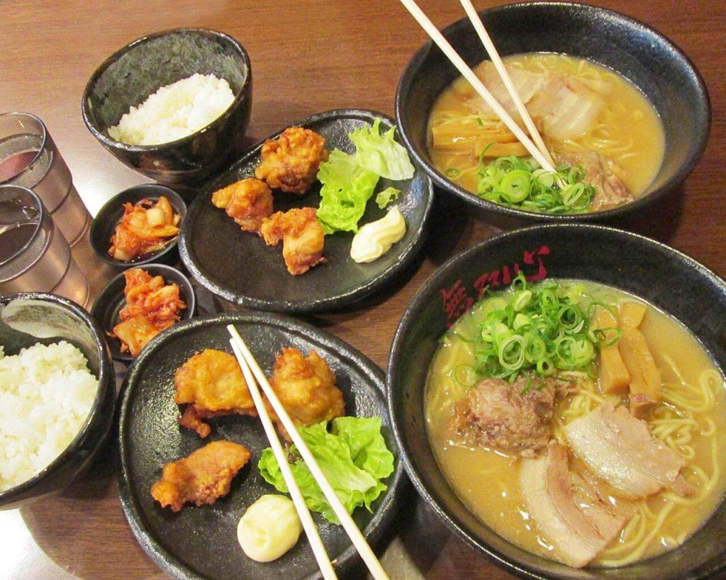 cena a base di ramen-cibo giapponese-Tokyo-Giappone-Japan-Asia