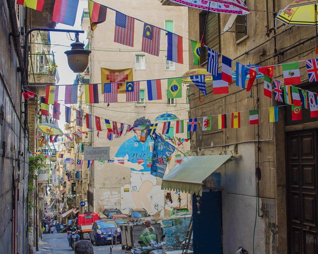 quartieri spagnoli-Napoli-Campania-Italia-Europa