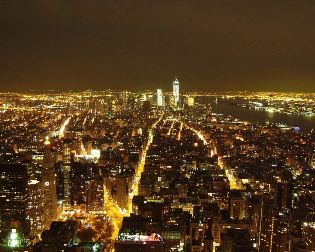 notte a new York-skyline new york-Capodanno a New York-New York-Cosa fare a New York-Stati Uniti-Usa-America
