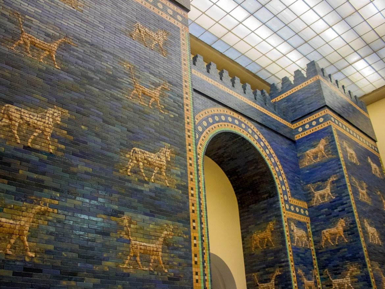 Porta di Ishtar-Pergamon museum-Pergamon Berlino-Berlino-Germania-Berlin-Europa-Europe