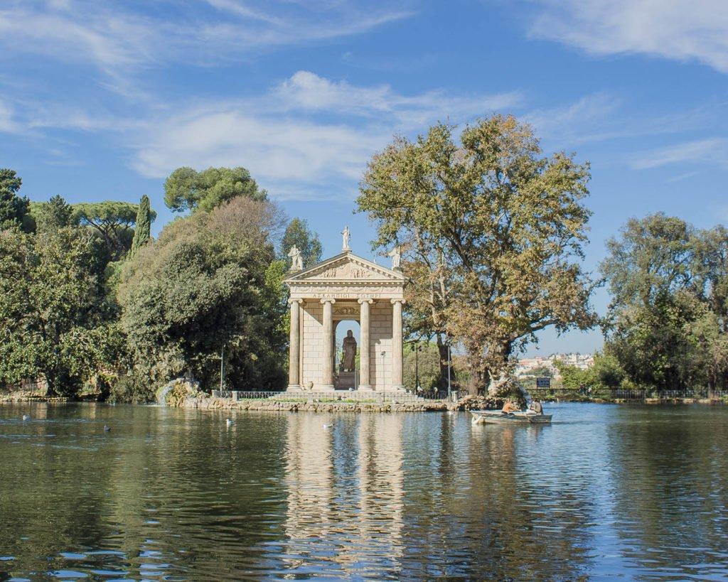 tempietto di villa borghese-villa borghese-roma-italia-italy-europe