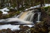 vattenfall i snösmältning