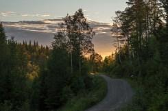 Grusväg i Kilsbergen