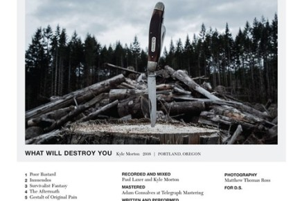 Kyle Morton – What Will Destroy You Review