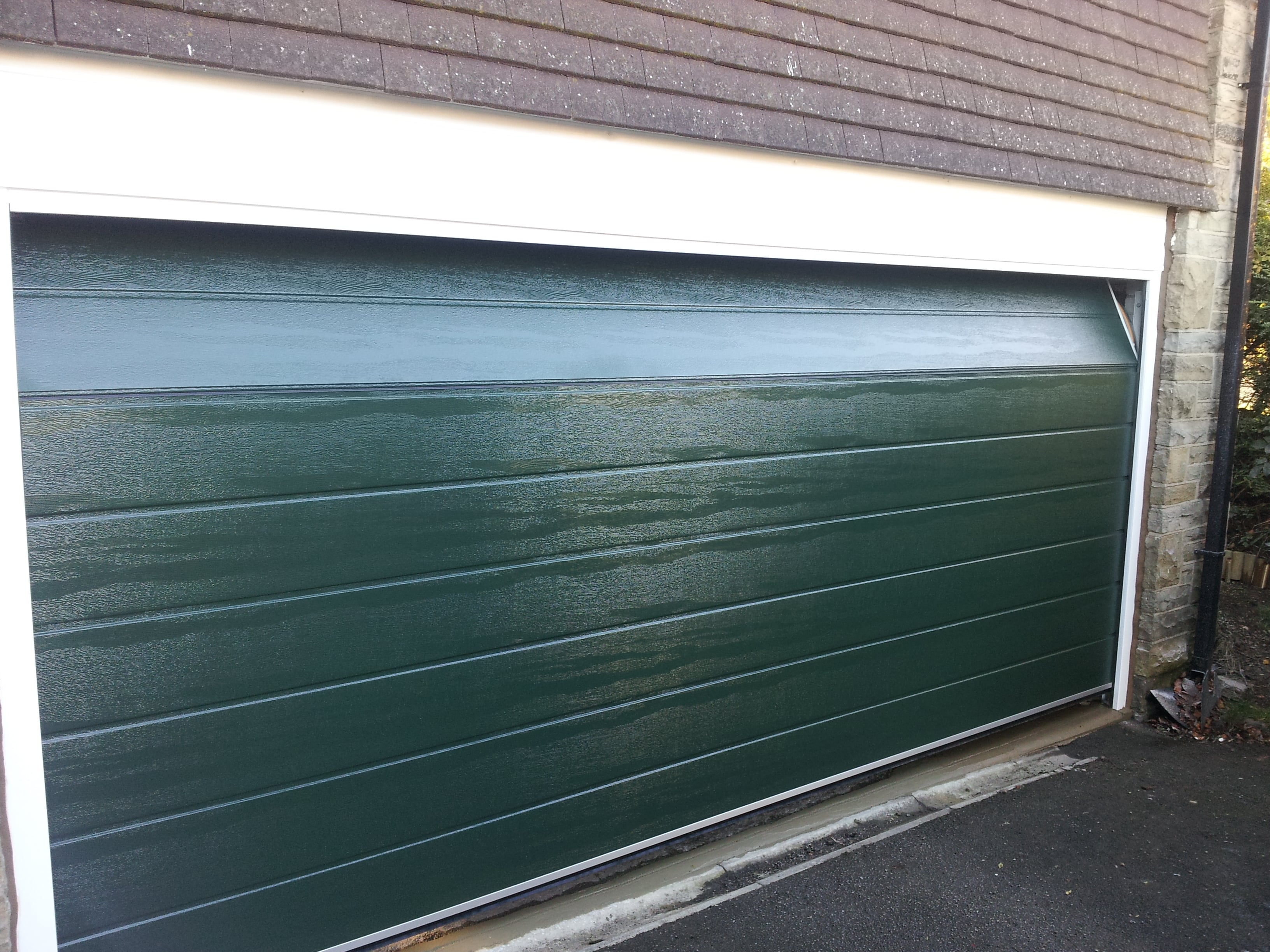 Garage Doors Sectional Roller Retractable Canopy