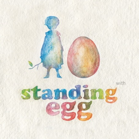 Standing Egg With
