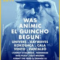 Espai Vapor 2017: WAS, El Guincho, Cala Vento...