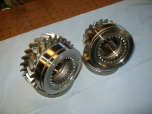 Finished gear and synchro cones