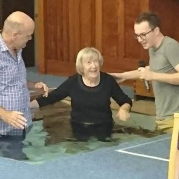 Ruth's brilliant baptism