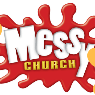 Messy church is back this Sunday!
