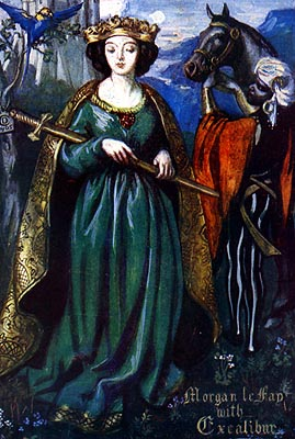 Image result for morgan le fay