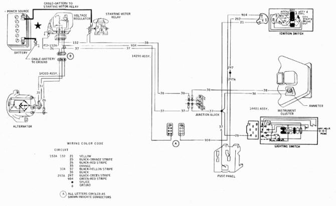 diagram 76 ford bronco alternator wiring diagram full
