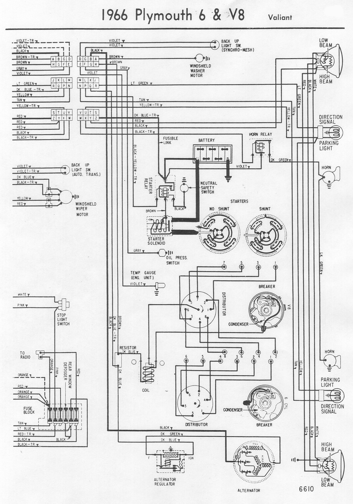 K R Instrument Wiring Diagram