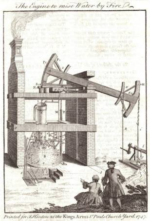 1747 - The Engine to raise Water by Fire