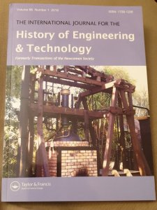 Volume 88 Issue 1 of the International Journal for the History of Engineering and Technology - Part 2 of the Proceedings of the International Early Engines Conference, 2017