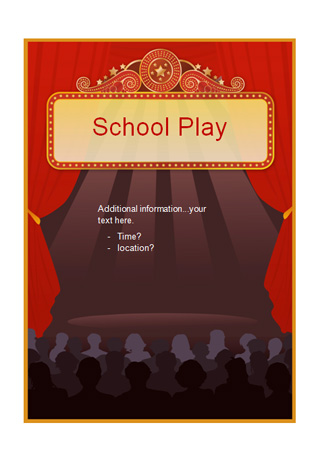 Editable School Play Poster Free Early Years Amp Primary Teaching Resources EYFS Amp KS1