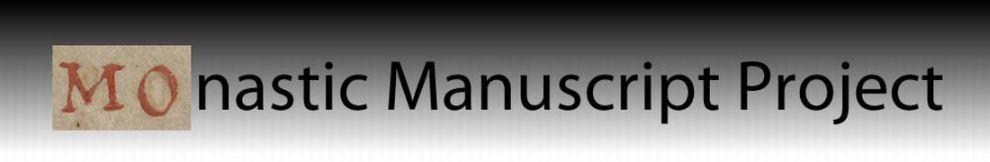 monastic manuscript project