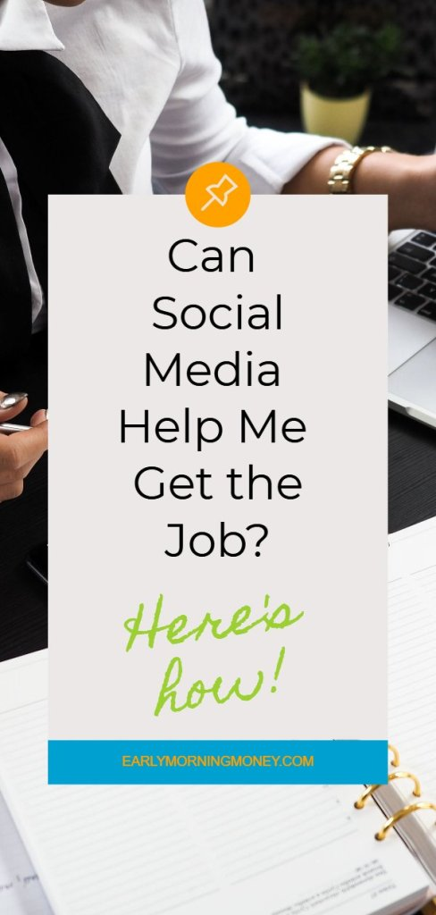How to use social media to get the job... it works!