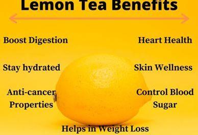 Lemon Tea Benefits