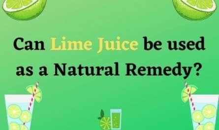 Lime juice benefits