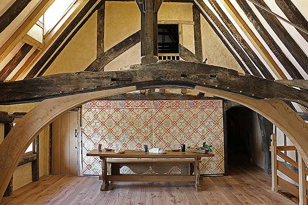Medieval Style Oak Trestle Table Amp Bench In C14th Hall House