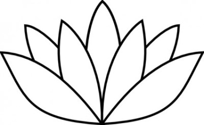 flower lotus template