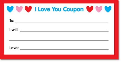 Free gift coupon templates to print out early play templates for Love coupon template for word
